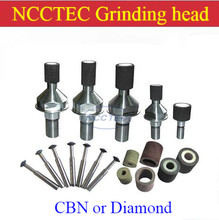 CBN Cubic boron nitride or Diamond Mini flat bowl stone grinding head wheel for grinding hard steel Stainless steel iron metal(China)
