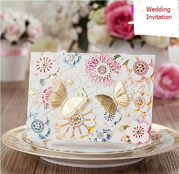 Aliexpress Buy Wedding Invitation Butterfly Baby Shower – Elegant Butterfly Wedding Invitations