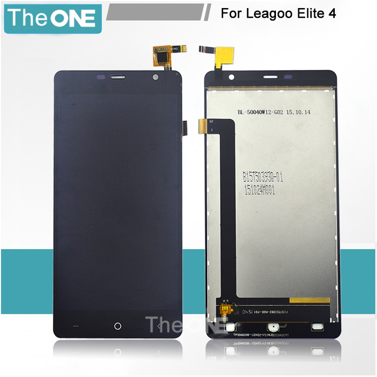 ФОТО For Leagoo Elite 4 LCD Display With Touch Screen Digitizer Assembly Replacement Parts Black