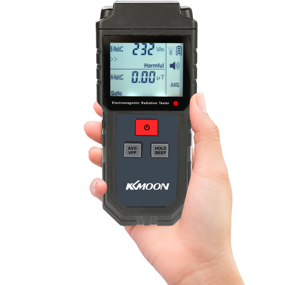 Display Screen Geiger Counter Nuclear Radiation Detector Personal