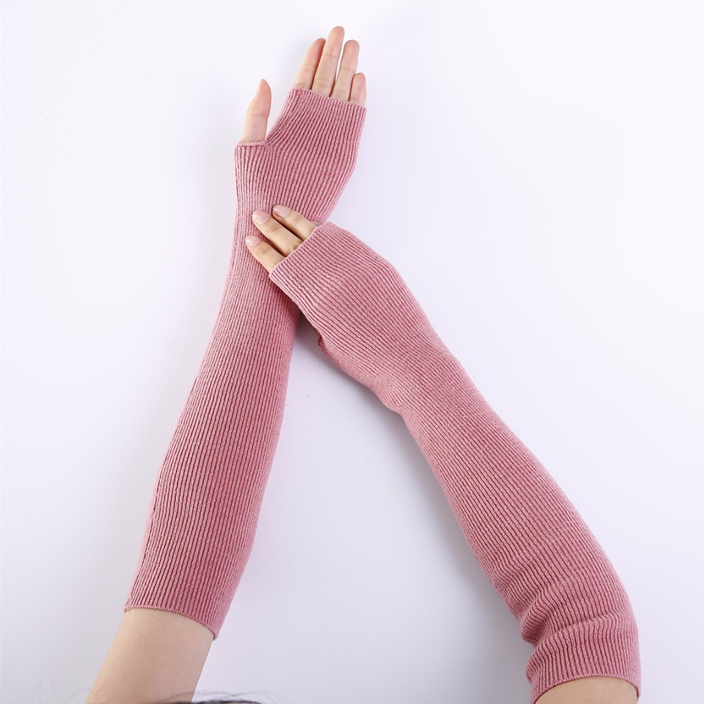 Bequemes GefüHl Ubetoku 2018 Herbst Frauen Warme Weiche Kaschmir Stricken Arm Wärmer Solide Farben Fäustlinge Handschuhe st9