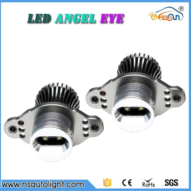 E90 E91 10W OEM size cree chips led angel eyes with halogen high power 12v input led marker angel eyes white color