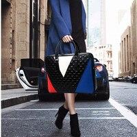 2019 новый унисекс портфель из натуральной кожи мужская и женская сумка 14 Сумка для ноутбука портативная деловая официальная ткацкая сумка