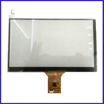 XWC2031 7inch Capacitive screen for GPS Car DVD touch sensor 165*99 for Android for linux I2C 1024*600 image