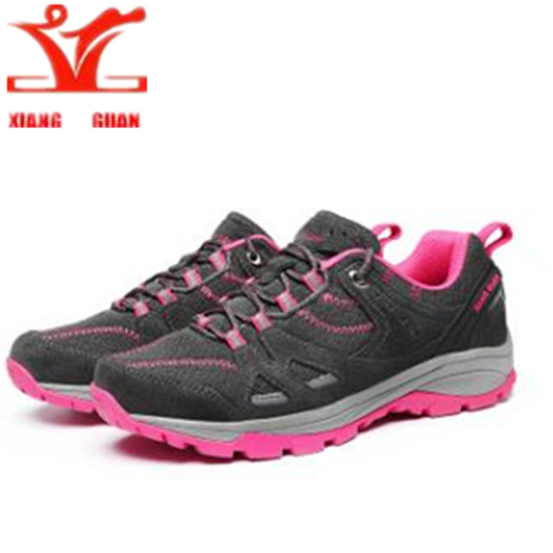 XIANG GUAN Hiking Shoes Hiking Boots 2017 Waterproof Uneebtex Outdoor Climbing Shoes Suede Breathable Sport Trekking Sneakers outdoor high top suede trekking boots lace up leisure sport fishing hiking shoes men waterproof breathable climbing sneakers