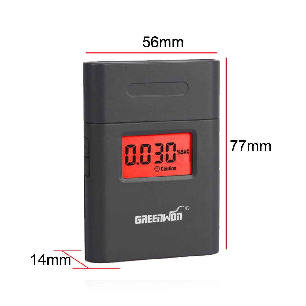 Travel & Roadway Product Helpful 10pcs/ Portable Breath Alcohol Analyzer Digital Breathalyzer Tester Body Alcoholicity Meter Alcohol Detection Latest Technology