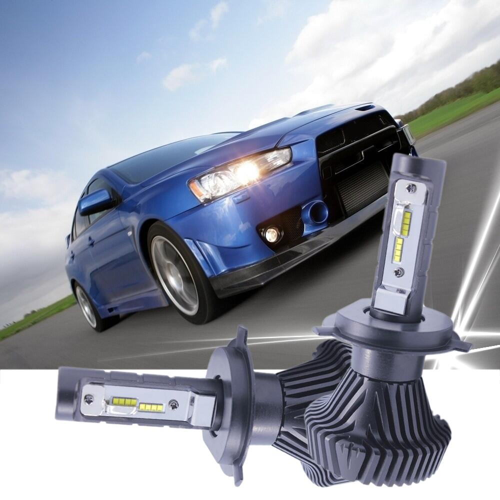 New Design H4 Led Headlight Cars High Low Beam 40W For Mitsubishi LED Lamp Xenon Car-Styling H4 LED Bulbs For Cars Car lighting