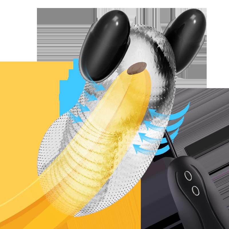 12 Speed Glans Vibrator Sex Toys for Men Penis Massager Male Masturbator Delay Lasting Training Glans Trainer Male Sex Toy