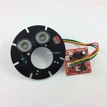 60 градусов, пятно Света Инфракрасный 2x ИК СВЕТОДИОДНЫЕ табло для CCTV камеры ночного видения. CY-ZL2A60(China (Mainland))