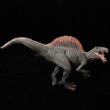1 adet Spinosaurus dinozor aksiyon figürü oyuncakları kukla çocuklar eğitim modeli