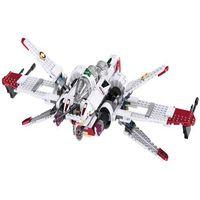 35004 Star Space Battle Captain Jag Clone Pilot R4 P44 ARC 170 Fighter Assembled Toy Building