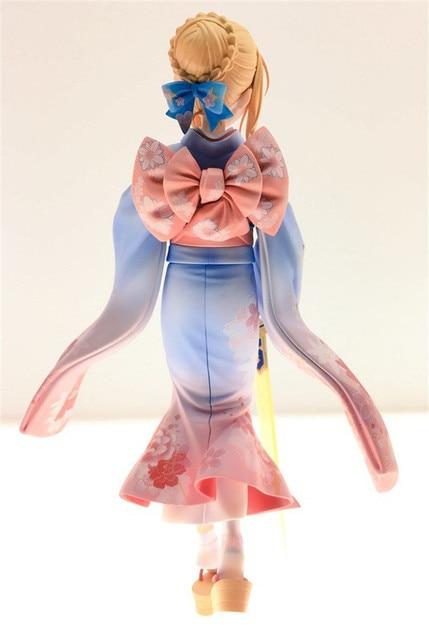Аниме фигурка Сайбер в кимоно 25 см ПВХ 1