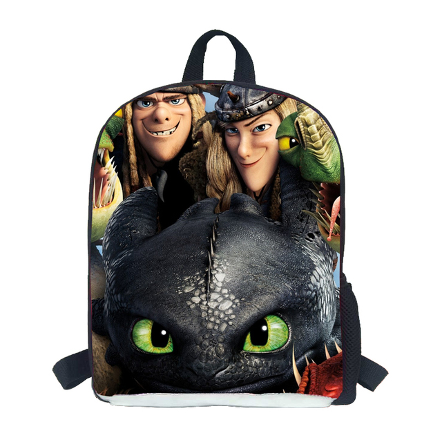 12 INCH how to train your dragon school bags kids BOOK bags for teenagers boys new design children school bags baby bag boys