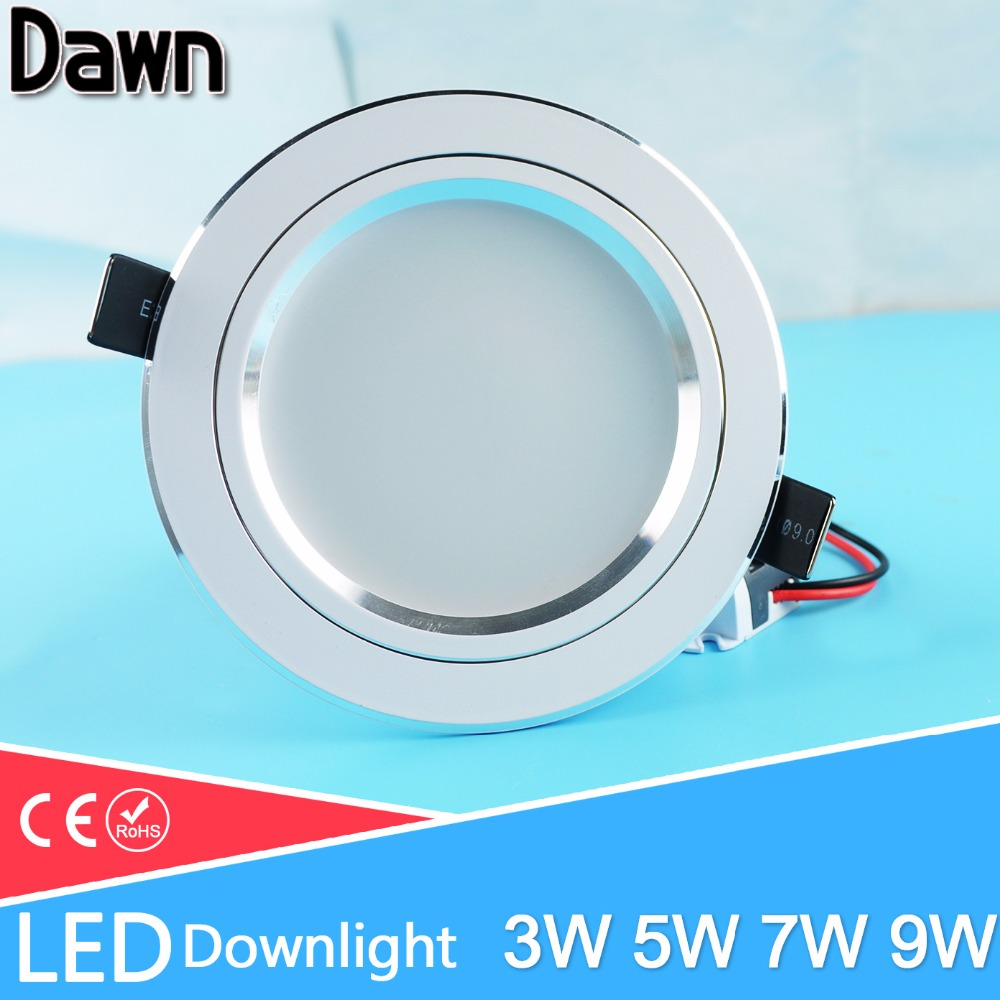 Ultra thin design 25W LED ceiling recessed grid downlight / round or ...