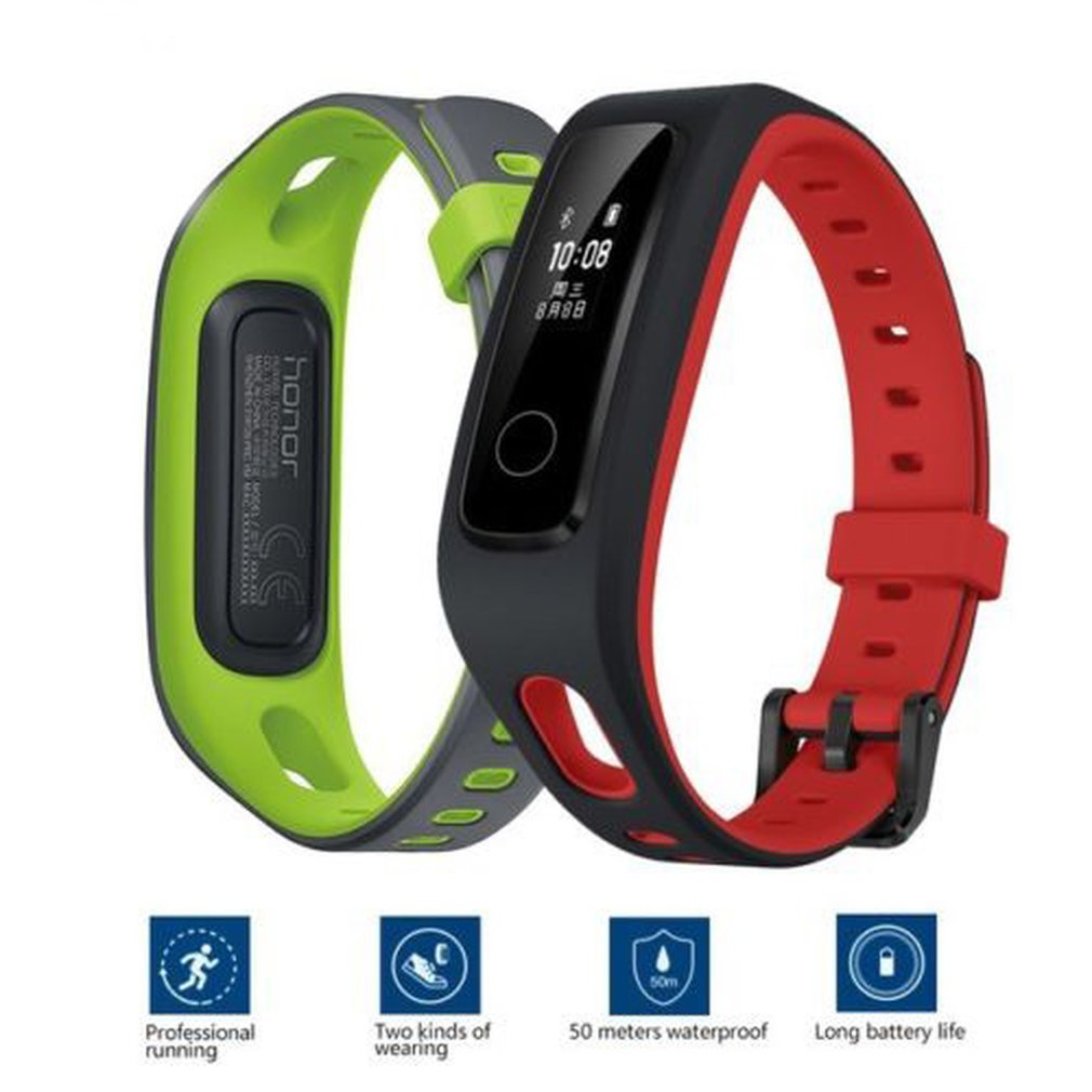 Watches Careful Unisex Soft Silicone Watch Strap Smart Wristband Hr Sleep Monitor Pedometer Fitness Tracker Smart Watch