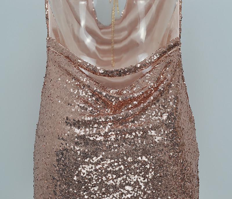 HTB1CD6RPpXXXXbkXVXXq6xXFXXXM - FREE SHIPPING Front Draped Backless Halter Sparkle Women's Sequin Dress JKP297