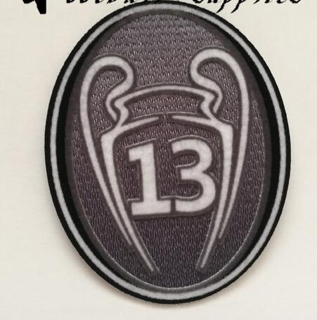 2018 RM Champion League Patches Soccer Badge 13 times Soccer patch