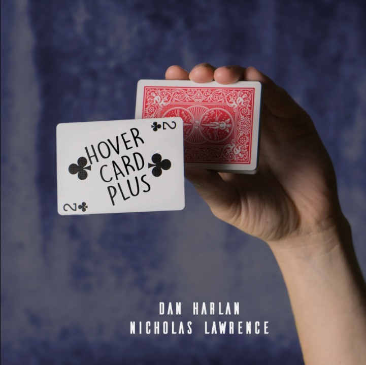 Hover Card Plus By Dan Harlan and Nicholas Lawrence - Magic Tricks (Gimmick and Online Instructions) Games Magic Cane Illusions image