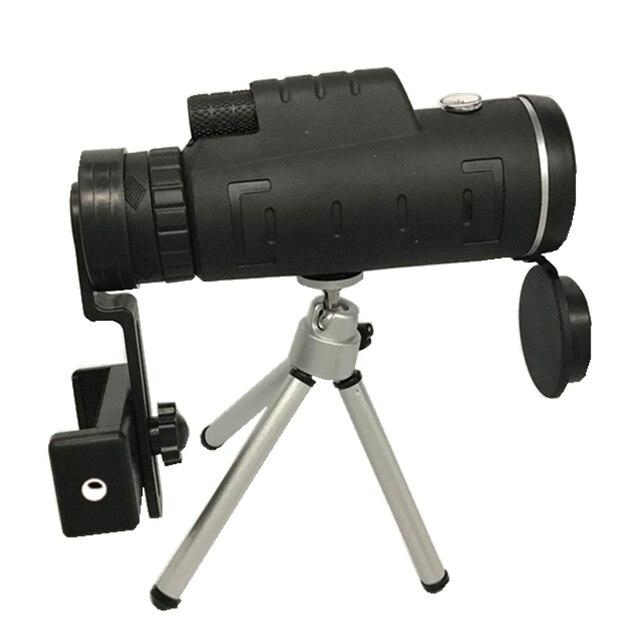 Zoom Mini Monocular Telescope Mobile Phone Lenses Universal HD 40X60 Single Focus Optic Lens For iPhone Huawei Camera Lens