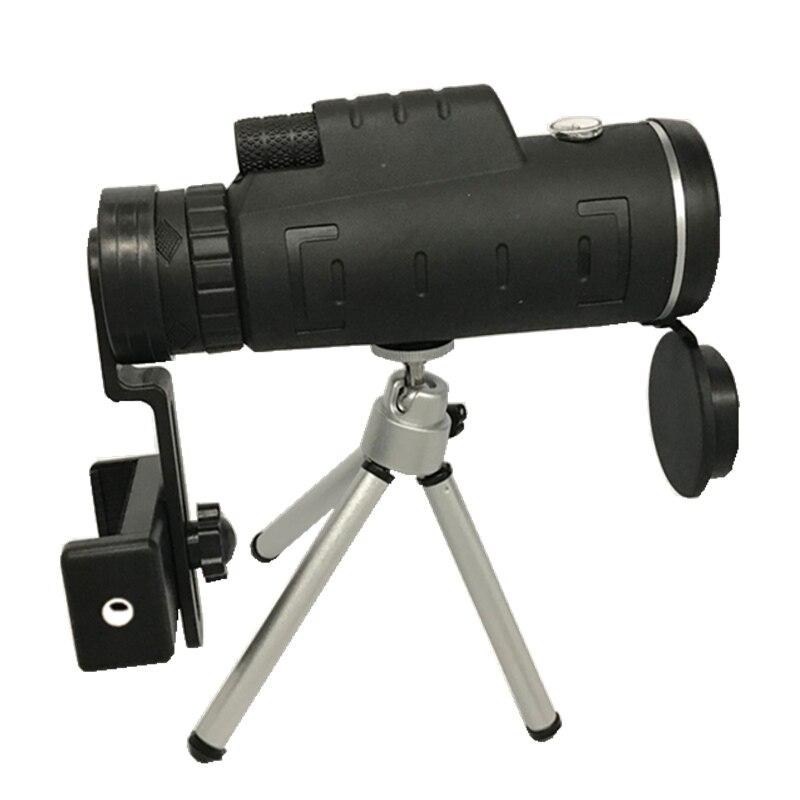Zoom Mini Monocular Telescope Mobile Phone Lenses Universal HD 40X60 Single Focu