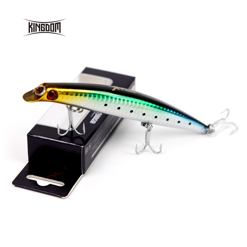 Kingdom Fishing Lures Hard Bait Floating 8.1g/95mm 15.3g/120mm 21g/130mm Artificial Baits Minnow Wobblers Model 5326 nannini шарф