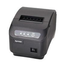 Freeshipping 80mm impresora térmica de recibos XP-200II E-EMS interfaz LAN 200 mm/s velocidad de impresión automática máquina de corte