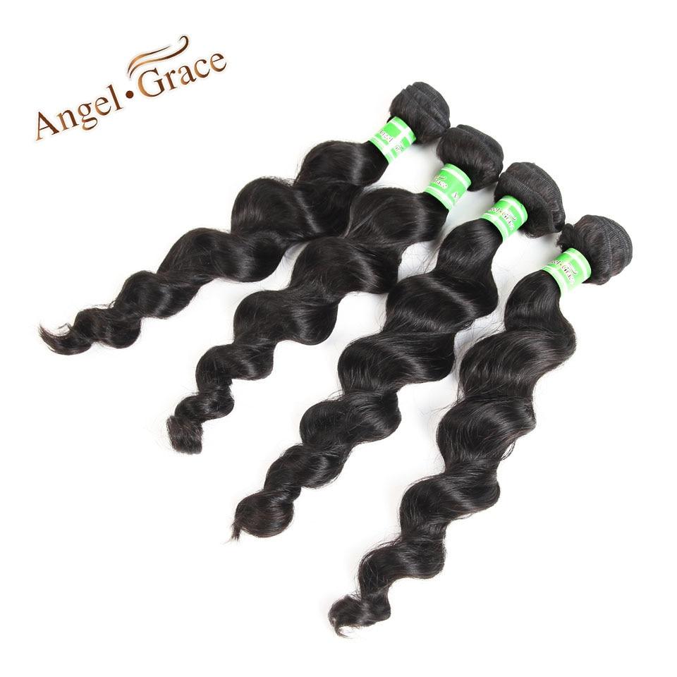 Loose Wave Bundles 4psc Malaysian Hair 10-28 Inch Remy Hair Natural Color Human Hair Bundles Silky Hair Extension Free Shipping