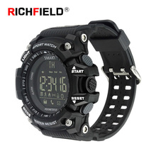 Smart watch Men Bluetooth Clock Sport Watch Notification Call Reminder Alarm Remote Control Pedometer IP67 Waterproof Wristwatch
