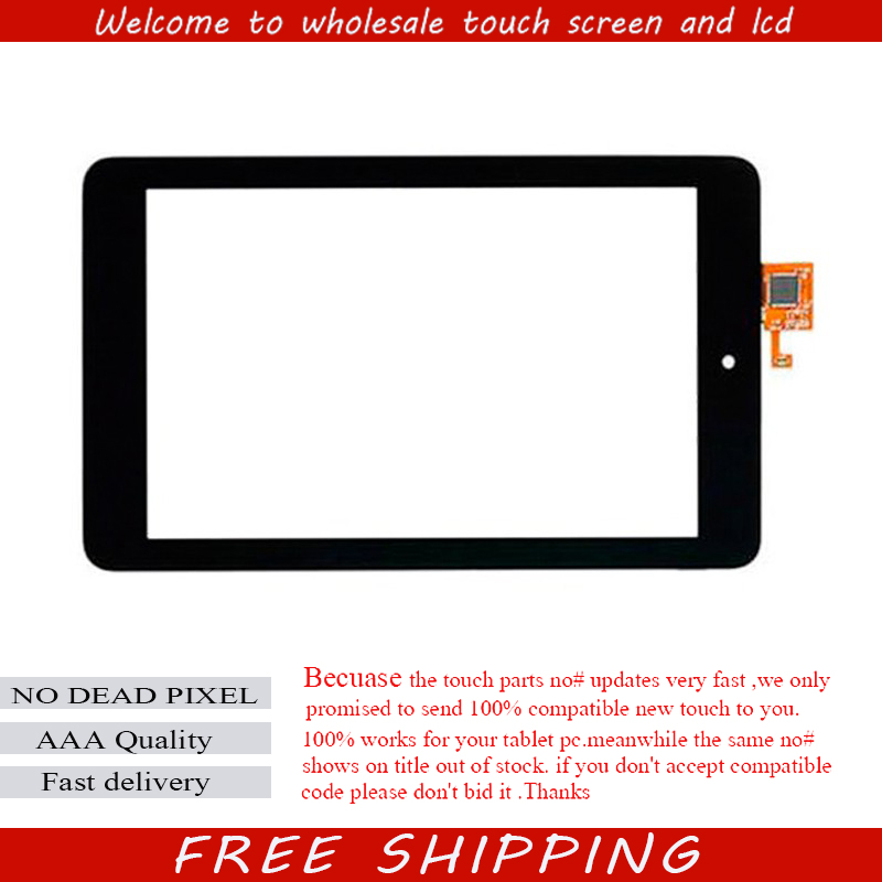 NEW Touch Screen With Digitizer Panel Front Glass FOR Dell T01C Venue 7 3730 free shipping