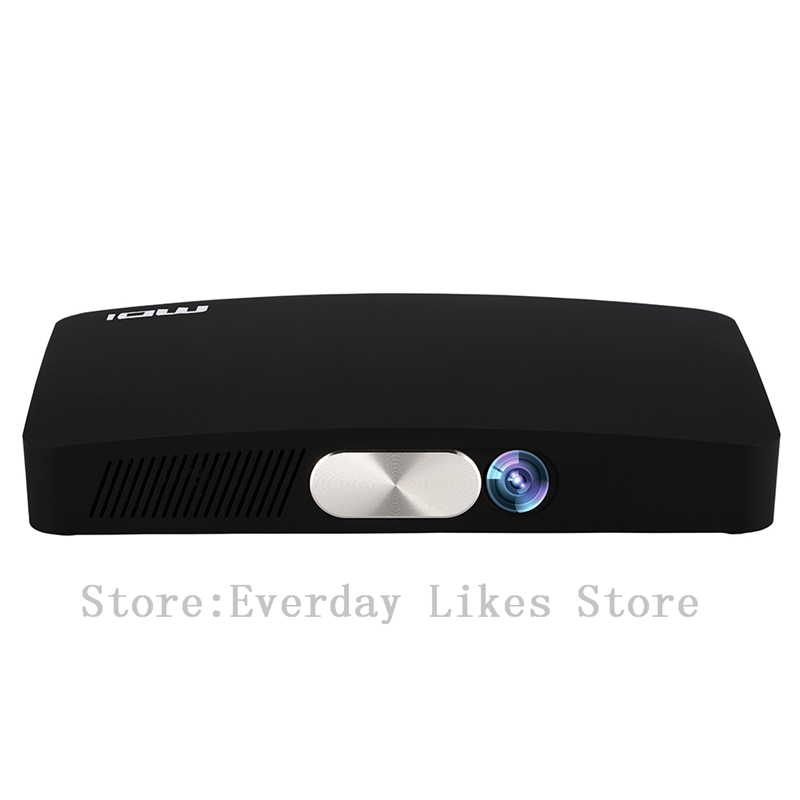 MDI D2 Intelligent Pico Projector 2000 Lumens 1280*720 Pixels BT 4.0 Android 4.4 Smart Media Player Portable Proyector