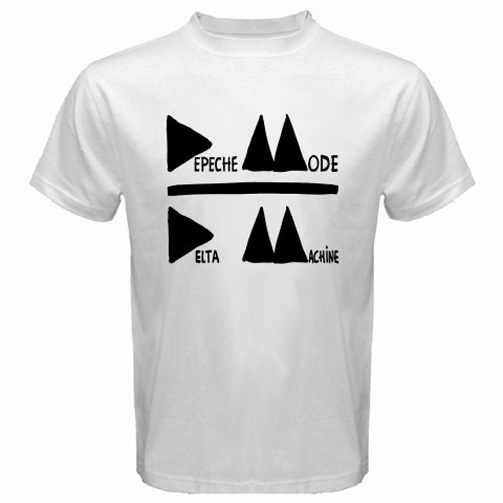 New DEPECHE MODE Delta Machine Electronic Band Mens White T-Shirt Size S to 3XL