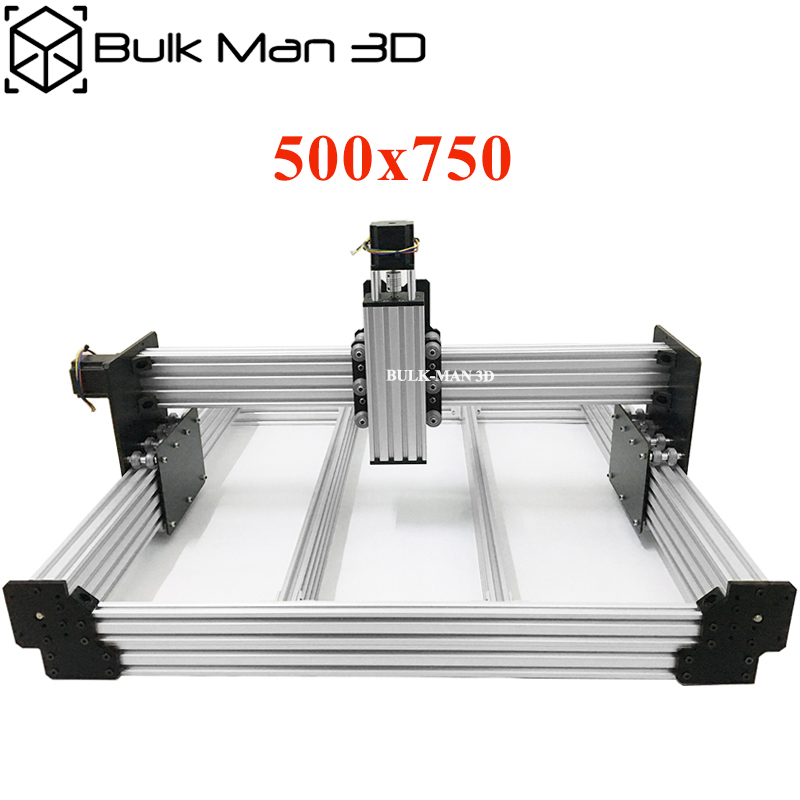 Workbee CNC Router Kit 500x750mm 4Axis Wood Metal Engraver Milling Machine Kit with Nema23 1 26N