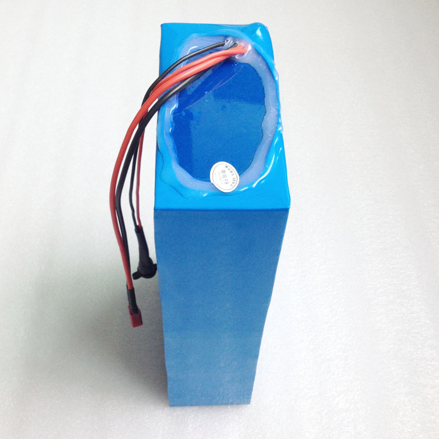 48V 1000W litium batareyası 48V 20AH 54.6V 2A şarj cihazı, 30A BMS - Velosiped sürün - Fotoqrafiya 3