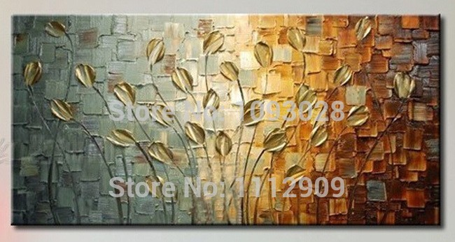 free shipping handmade texture huge abstract oil painting modern