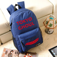 Tokyo Ghoul Shoulders Bag Students Boys Girls School Bags Ken Kaneki Cartoon Backpack Oxford Knapsack