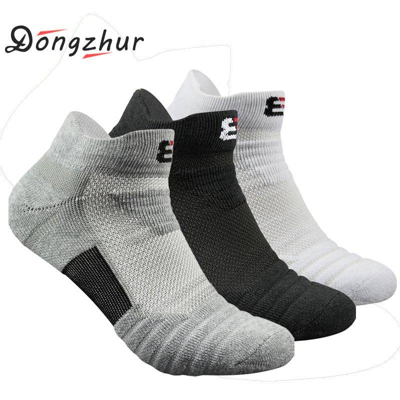 Men Sport Socks Cotton Breathable Thicken Elastic Thermal Sport Socks Outdoor Basketball Running Terry Socks Winter Warm