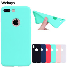 For Iphone X Candy Colors Soft Silicon TPU Fundas Cases For Apple Iphone 5 5S SE 6 6S 6plus 6s Plus 7 7plus 8 8plus 8 Plus Cover silicon plus 5 8 20м