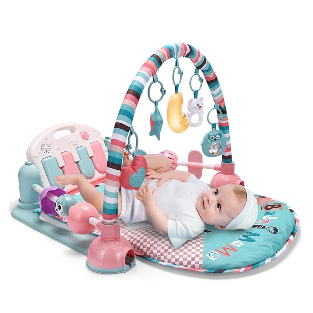 Bébé jouets jouer tapis éducatif ramper tapis jouer Gym bande dessinée enfants couverture - 2