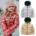 HH/зимнее пальто для девочек, парка для детей, розовый, золотой, серебряный пуховик для мальчиков, подростковые зимние куртки, зимняя куртка для России, для детей 2, 8, 10 лет - фото