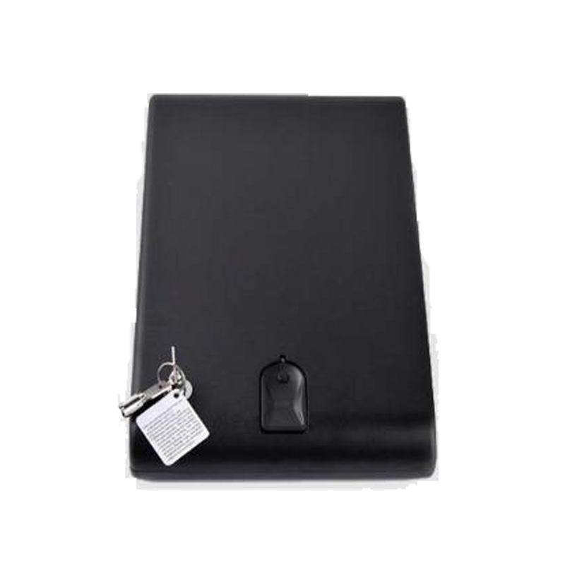 Protable Safes Strongbox Fingerprint Safe Box Security Fingerprint and Key Lock 2 in 1 Valuables Jewelry Box For Car Household цена