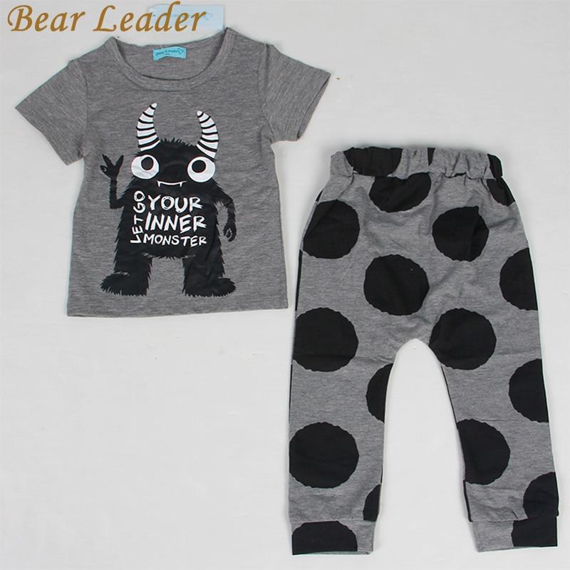 Bear-Leader-Baby-Clothing-Sets-2016-Summer-Style-Baby-Girls-Boys-Clothes-Black-Letter-T-shirtImitation-cowboy-pants-2pcs-suit-3