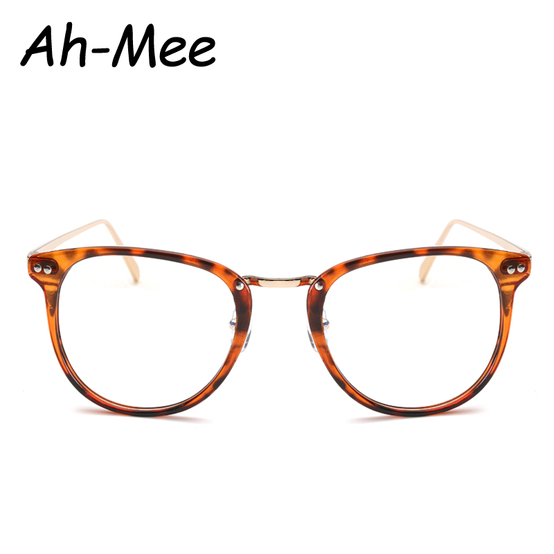Cat Eye Glasses Frames Vintage Eyeglasses Frame Women Men Fake Plain Glasses Ladies Eyewear For Woman man