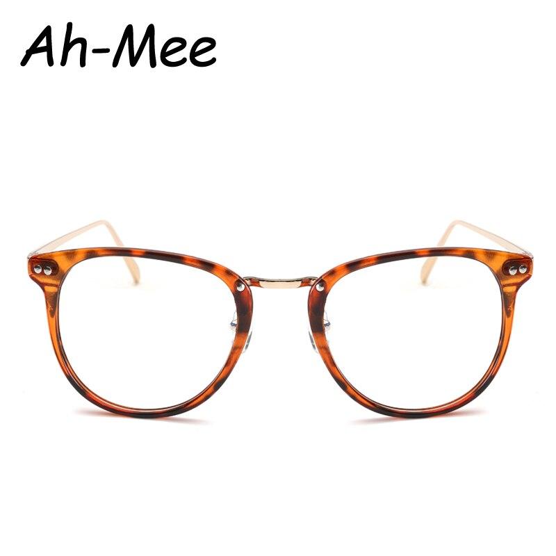 1f37ecc90e2 Newest Oversize Glasses Frames Metal Leg Vintage Eyeglasses Frame Women Men  Fake Plain Glasses Fashion Eyewear