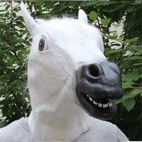 קוספליי מצחיק מסיכת סוס לטקס קישוטי נשף מסכות מסכת mens כובעי תלבושות ריקוד מסכה מצחיקות עבור ליל כל הקדושים ילדים/מבוגרים