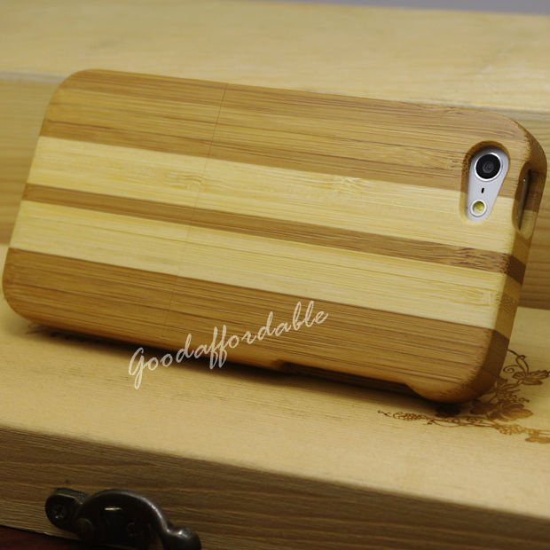 Bamboo wood Case for iPhone 5
