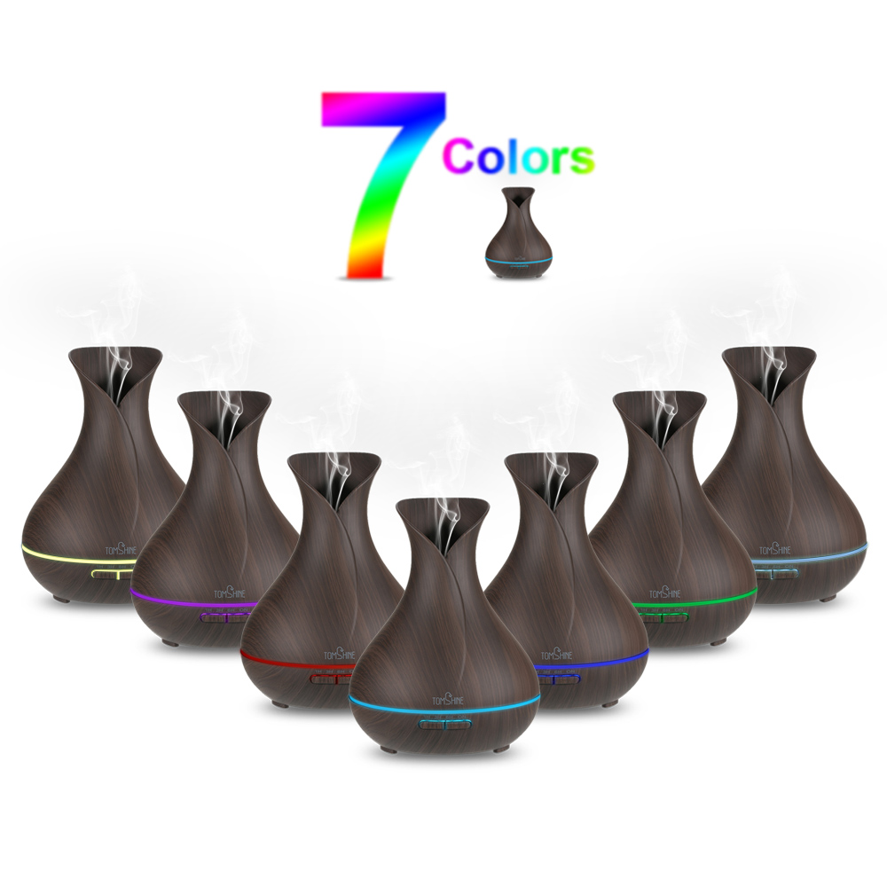 Aroma night lamps - Aromatherapy Diffuser Air Humidifier 7 Color Led Night Light Ultrasonic Humidifier Air Aroma Diffuser Mist Maker