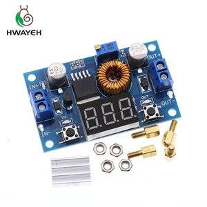 Image 1 - 5A 75W XL4015 DC DC ממיר מתכוונן צעד למטה מודול 4.0 38V כדי 1.25V 36V DIY מתכוונן אספקת חשמל