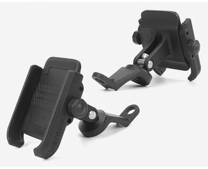 Image 4 - High Quality Sturdy Aluminum Alloy Rearview Mirror Motorcycle Phone Holder Moto Motorbike Bracket Stand Support for iPhone12 GPS