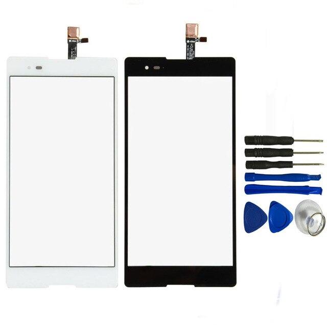Для Sony Xperia T2 Ultra Dual D5322 XM50h Сенсорный Экран Digitizer Стекло Датчик + Бесплатные Инструменты, бесплатная Доставка & Отслеживая Номер