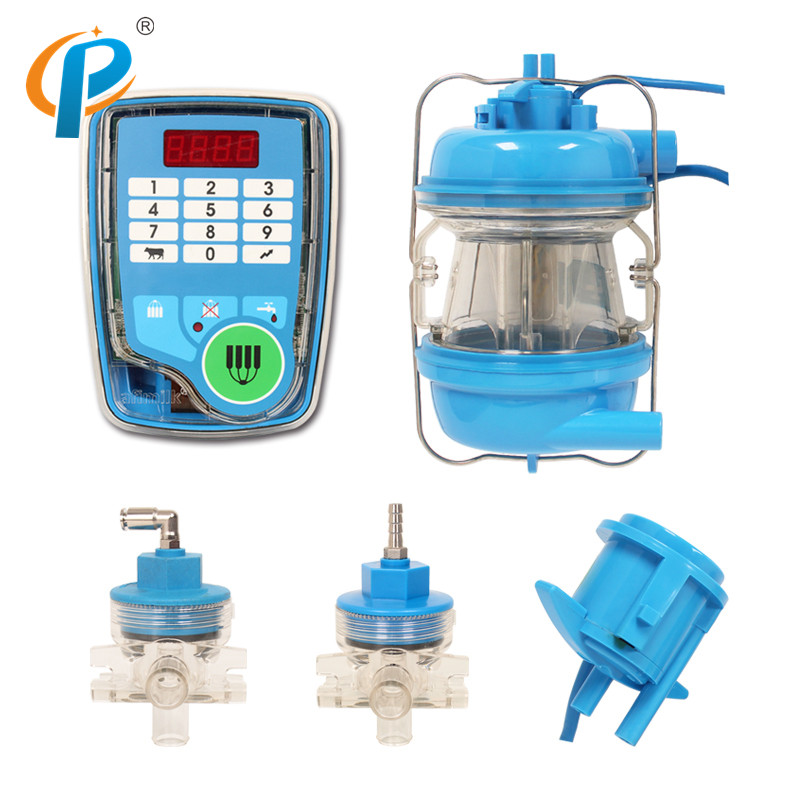 Electronic Afimilk Milk Meter for Cow Rotary Milking Parlor System in Feeding Watering Supplies from Home Garden